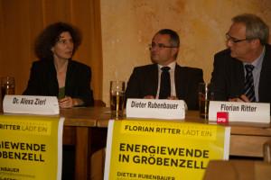 V.l.n.r.: Dr. Alexa Zierl, Dieter Rubenbauer, Florian Ritter