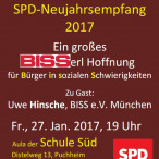 Plakat SPD-Neujahrsempfang 2017